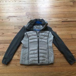 Michael Kors Packable Grey Down Jacket